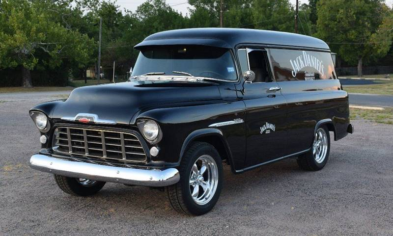 1956 Chevrolet Panel Truck for sale at Pat's Auto Sales in Pilot Point TX