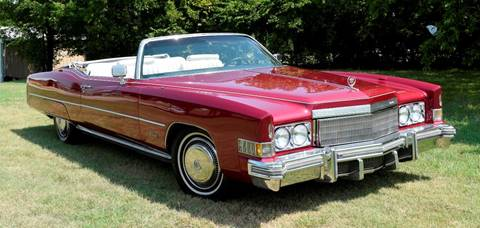 1974 Cadillac Eldorado for sale at Pat's Auto Sales in Pilot Point TX