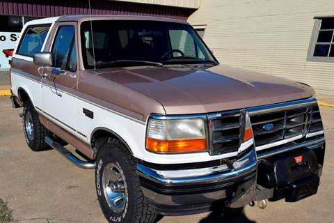1996 Ford Bronco for sale at Pat's Auto Sales in Pilot Point TX