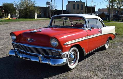 1956 Chevrolet Bel Air for sale at Pat's Auto Sales in Pilot Point TX