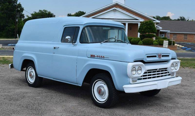 1960 Ford Panel Truck for sale at Pat's Auto Sales in Pilot Point TX