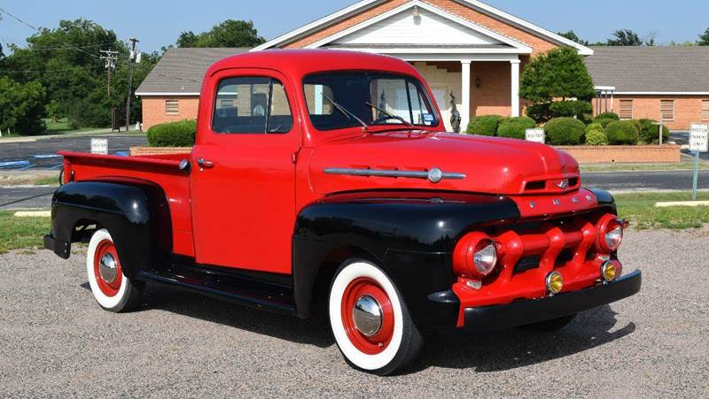 1952 Ford F-1 for sale at Pat's Auto Sales in Pilot Point TX