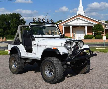 1979 Jeep CJ-5 for sale at Pat's Auto Sales in Pilot Point TX
