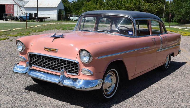 1955 Chevrolet Bel Air for sale at Pat's Auto Sales in Pilot Point TX