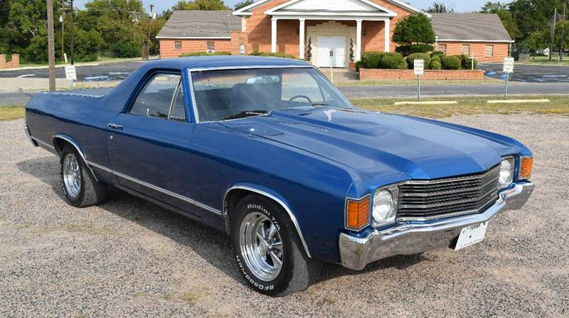 1972 chevrolet el camino in pilot point tx pat 39 s auto sales. Black Bedroom Furniture Sets. Home Design Ideas