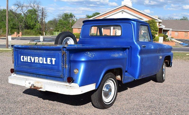 1966 Chevrolet C/K 10 Series Short Bed Stepside - Pilot Point TX