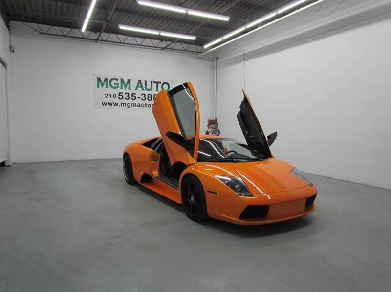 2006 Lamborghini Murcielago Awd 2dr Coupe In San Antonio Tx Mgm Auto