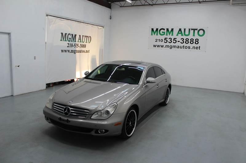 2006 mercedes benz cls cls 500 4dr sedan in san antonio tx mgm auto. Black Bedroom Furniture Sets. Home Design Ideas