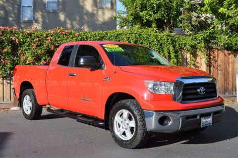 2008 Toyota Tundra for sale at Cali Motor Group in Gilroy CA