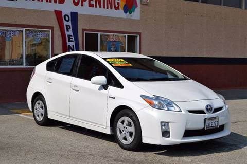 2010 Toyota Prius for sale at Cali Motor Group in Gilroy CA