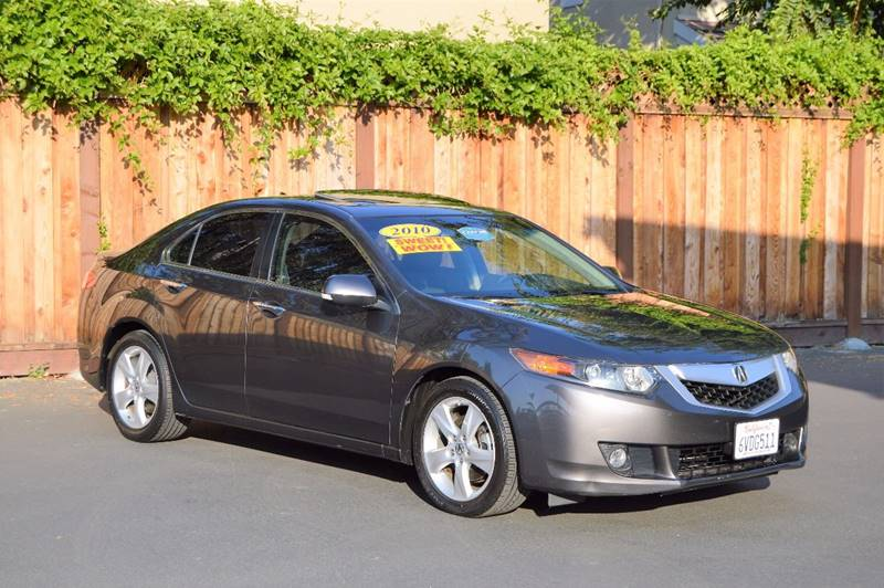 2010 Acura Tsx 4dr Sedan 5a Wtechnology Package In San Jose Ca