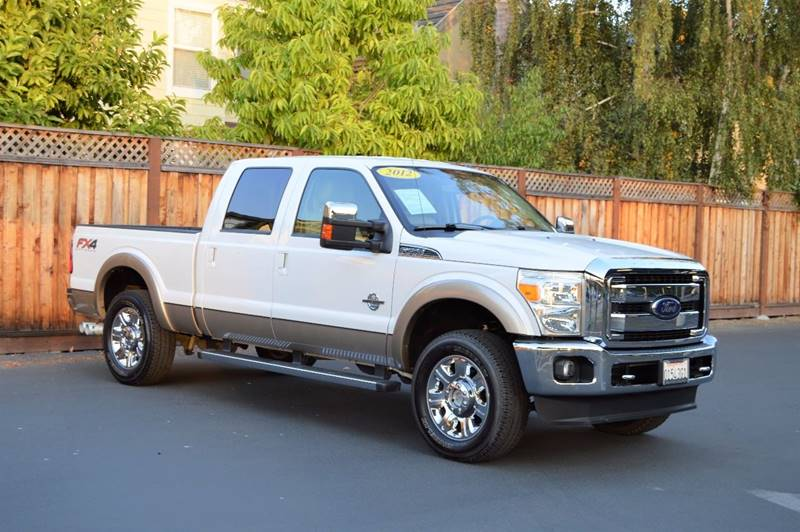 2012 ford f 250 super duty lariat in gilroy ca cali motor group