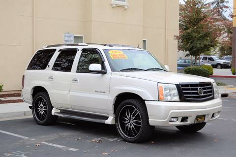 2004 Cadillac Escalade for sale at Cali Motor Group in Gilroy CA