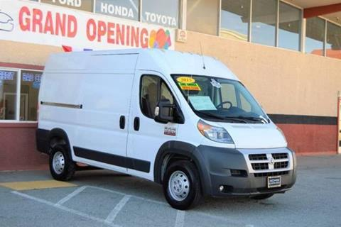 2015 RAM ProMaster Cargo for sale at Cali Motor Group in Gilroy CA