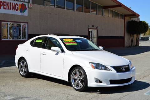 2010 Lexus IS 250 for sale at Cali Motor Group in Gilroy CA