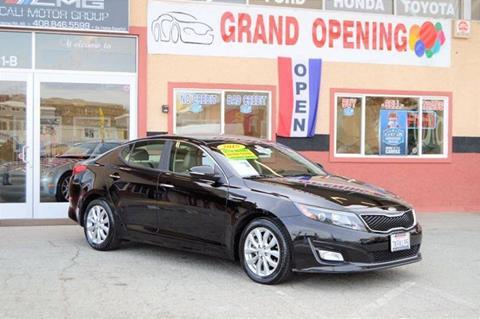2015 Kia Optima for sale at Cali Motor Group in Gilroy CA