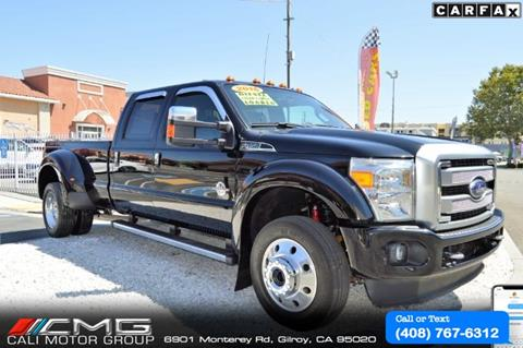 2016 F350 Super Duty >> 2016 Ford F 450 Super Duty For Sale In Gilroy Ca
