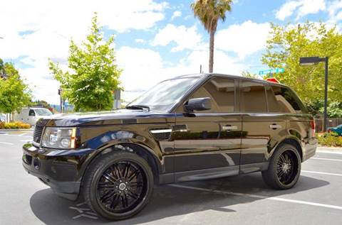 2008 Land Rover Range Rover Sport for sale at Cali Motor Group in Gilroy CA