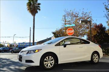 2012 Honda Civic for sale at Cali Motor Group in Gilroy CA