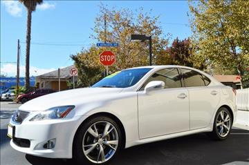 2009 Lexus IS 250 for sale at Cali Motor Group in Gilroy CA