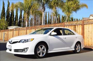 2012 Toyota Camry for sale at Cali Motor Group in Gilroy CA