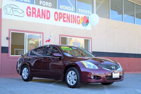 2012 Nissan Altima for sale at Cali Motor Group in Gilroy CA