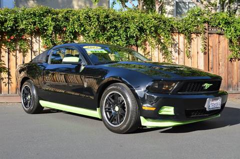 2012 Ford Mustang for sale at Cali Motor Group in Gilroy CA