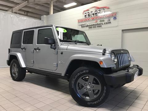 2015 Jeep Wrangler Unlimited for sale in Baraboo, WI