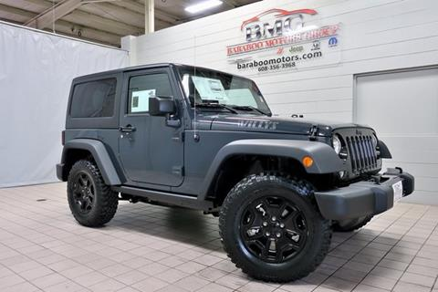 2017 Jeep Wrangler for sale in Baraboo, WI