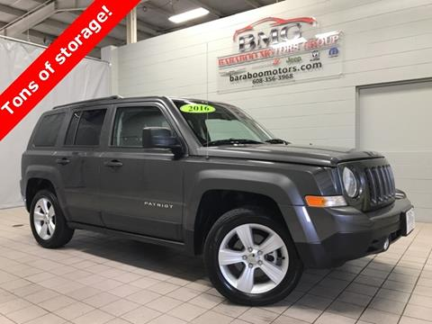 2016 Jeep Patriot for sale in Baraboo, WI