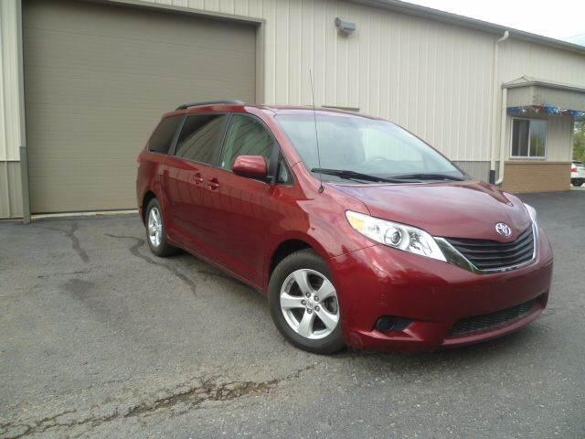 2013 Toyota Sienna for sale at Last Stop Motors in Racine WI