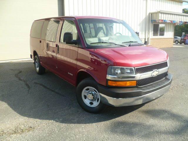 2006 Chevrolet Express Passenger for sale at Last Stop Motors in Racine WI