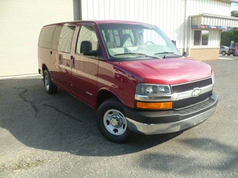 2006 Chevrolet Express Passenger for sale at Last Stop Motors in Racine WI