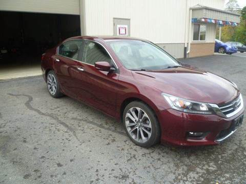 2014 Honda Accord for sale at Last Stop Motors in Racine WI