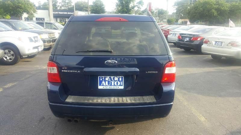 2005 Ford Freestyle AWD Limited 4dr Wagon - Virginia Beach VA