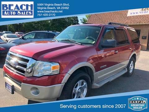 2007 Ford Expedition for sale in Virginia Beach, VA