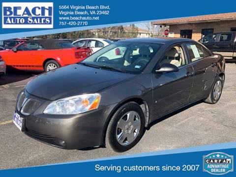 2007 Pontiac G6 for sale in Virginia Beach, VA
