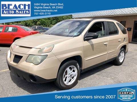 2004 Pontiac Aztek for sale in Virginia Beach, VA