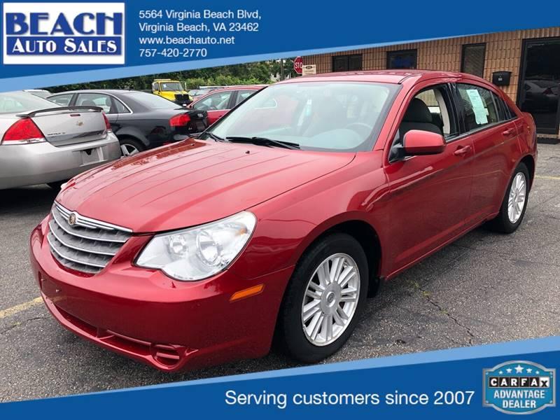 Virginia Auto Sales Tax >> 2007 Chrysler Sebring Touring 4dr Sedan In Virginia Beach Va