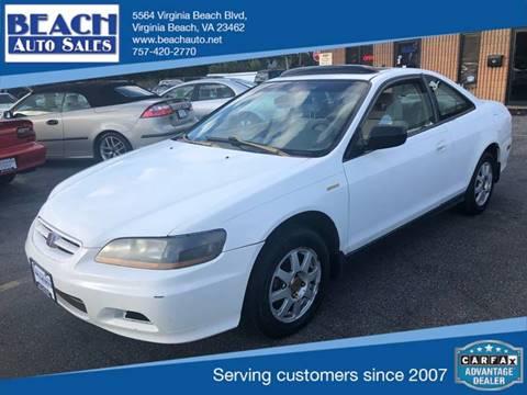 2002 Honda Accord for sale in Virginia Beach, VA