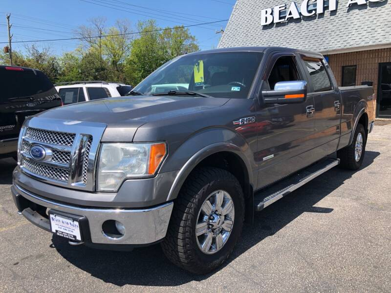 2011 Ford F-150 4x4 Lariat 4dr SuperCrew Styleside 6.5 ft. SB - Virginia Beach VA