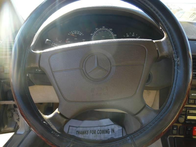 1996 Mercedes-Benz SL-Class SL600 2dr Convertible - Virginia Beach VA
