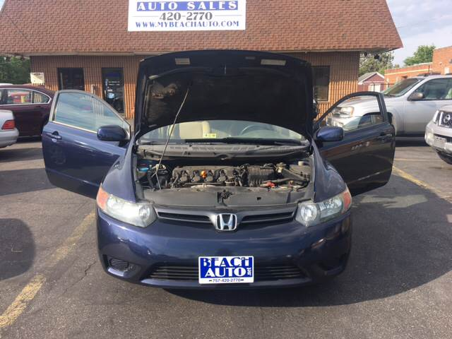 2006 Honda Civic EX 2dr Coupe w/Manual - Virginia Beach VA