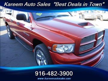 2005 Dodge Ram Pickup 1500 for sale in Sacramento, CA