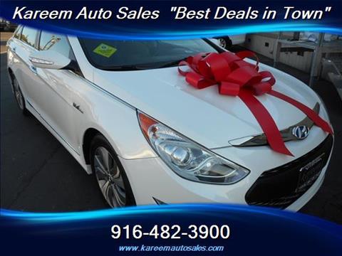 2013 Hyundai Sonata Hybrid for sale in Sacramento, CA