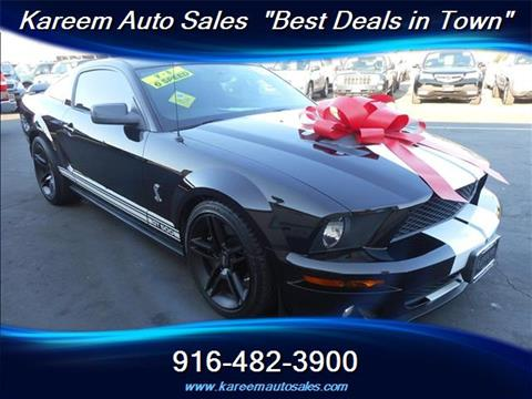 2007 Ford Shelby GT500 for sale in Sacramento, CA
