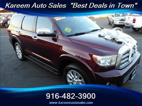 2011 Toyota Sequoia for sale in Sacramento, CA