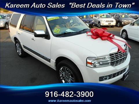 2010 Lincoln Navigator for sale in Sacramento, CA