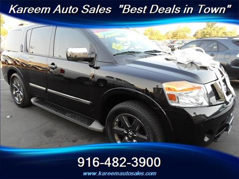 2013 Nissan Armada for sale in Sacramento, CA