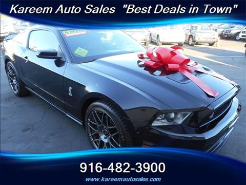 2011 Ford Shelby GT500 for sale in Sacramento, CA